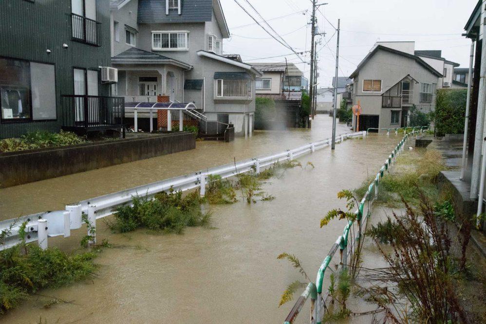 近年の浸水被害を引き起こす原因...